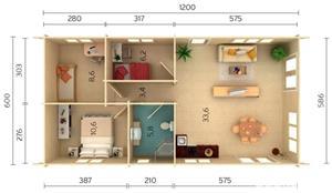 Case din lemn - imagine 2