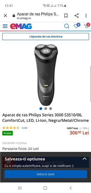 Aparat barbierit Philips series 3000 - imagine 5