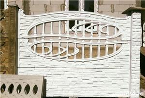 Gard beton, placi beton, prefabricate beton, pavele, dale beton - imagine 5