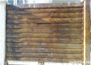 Gard beton, placi beton, prefabricate beton, pavele, dale beton - imagine 2