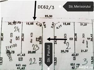 Proprietar teren Moșnița pe colt, 2 fronturi 30,5/20, ideal duplex în Moșnița, pădurea Bistra!  - imagine 1