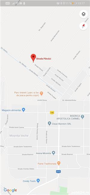 Proprietar teren Moșnița pe colt, 2 fronturi 30,5/20, ideal duplex în Moșnița, pădurea Bistra!  - imagine 7