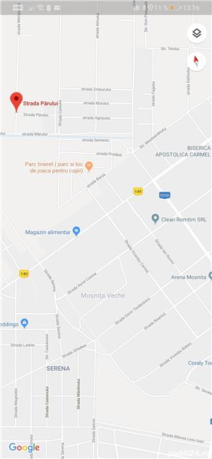 Proprietar teren Moșnița pe colt, 2 fronturi 30,5/20, ideal duplex în Moșnița, pădurea Bistra!  - imagine 3