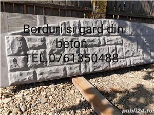 Borduri si gard din beton  - imagine 4