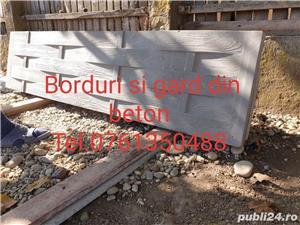 Borduri si gard din beton  - imagine 5