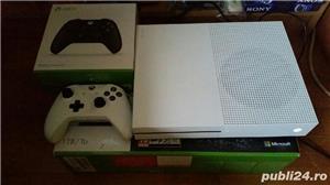 Xbox One S , 1 tb , 2 manete ,5 jocuri - imagine 1