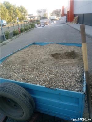 Transport marfa cu remorca 750kg - imagine 1