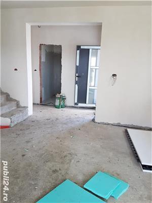 Sacalaz, casa noua unifamiliala sau duplex, constructie noua caramida la cheie cu GAZ, CURENT, apa  - imagine 6