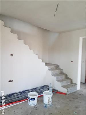 Sacalaz, casa noua unifamiliala sau duplex, constructie noua caramida la cheie cu GAZ, CURENT, apa  - imagine 5
