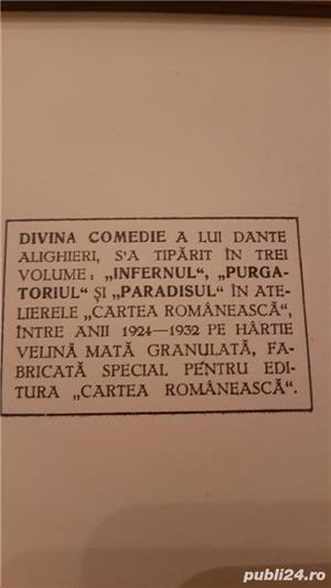 PARADISUL , vol .din Divina Comedie Dante  Alighieri.o alegorie desprecălătoria lui Dante prin Rai, - imagine 2