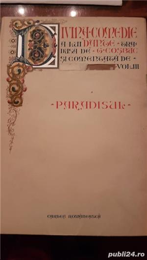 PARADISUL , vol .din Divina Comedie Dante  Alighieri.o alegorie desprecălătoria lui Dante prin Rai, - imagine 1