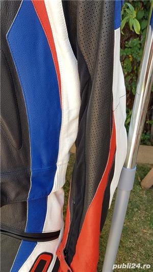 Costum moto AXO Racing (52) perfect! Geaca+ pantaloni - imagine 8