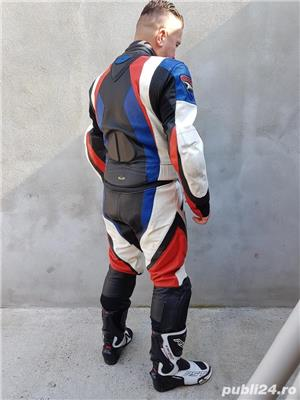 Costum moto AXO Racing (52) perfect! Geaca+ pantaloni - imagine 2