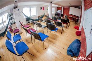 Inchiriez cu ora spațiu, prezentari, intalniri, cursuri, dans, internet - imagine 2