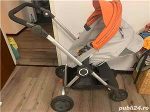 Carucior STOKKE Scoot portocaliu - imagine 5