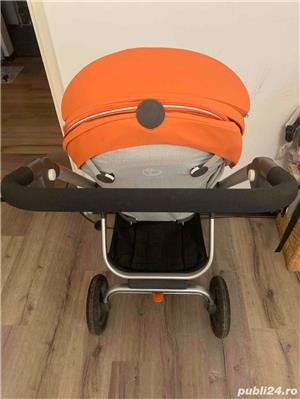 Carucior STOKKE Scoot portocaliu - imagine 3