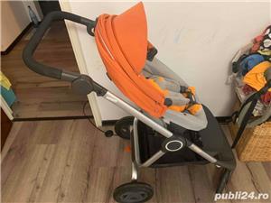 Carucior STOKKE Scoot portocaliu - imagine 7