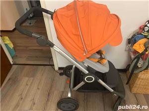 Carucior STOKKE Scoot portocaliu - imagine 6