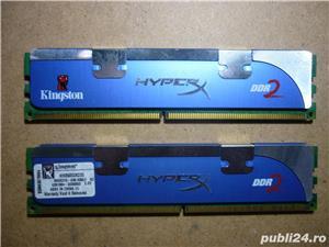 Kit memorie PC Kingston DDR2-6400 - imagine 2
