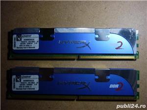Kit memorie PC Kingston DDR2-6400 - imagine 1