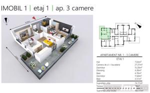 COMISION 0 | 3 camere | 2 bai | etaj 1 | Concept exclusivist - imagine 2