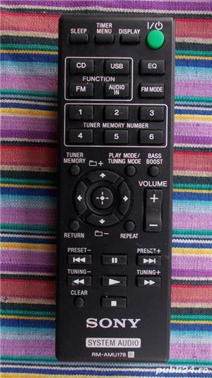 Telecomanda SONY diverse modele pt.audio combina,portabile - imagine 1
