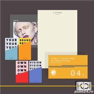Realizam Logo, Web Design, Dezvoltarea Brandului in solutii de calitate 100 Euro - imagine 1