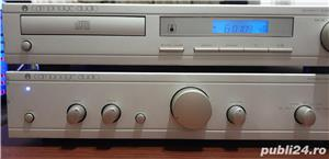 Sistem Cambridge Audio amplif A5 si cd player D100 - imagine 3
