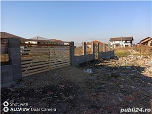 vand teren pentru casa Sacalaz la intrare in sat cartierul Europa  - tel - imagine 4