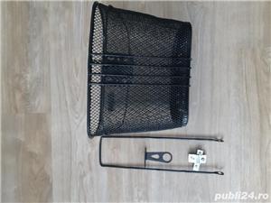 Cos bicicleta nou – rezistent  – complet cu toate accesoriile - imagine 1