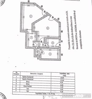 Polona spatiu comercial 51 mp parter/2Etaje, vitrina 16 ml, 3 intrari - imagine 12