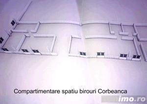 Corbeanca Dn1 Therme spatiu birouri nou 200 mp in 5 incaperi, parcare - imagine 12