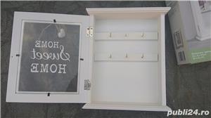Cutie dulap cabinet suport chei cârlig agățător cuier key - imagine 3