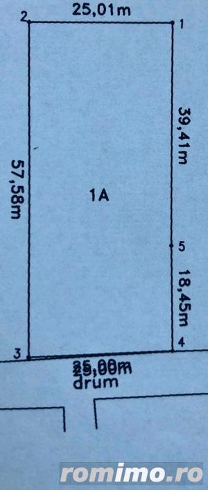 Teren intravilan de vanzare in Rascruci zona centrala - imagine 2