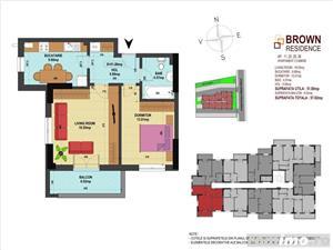 Sector 4, decomandat, 2 camere, imobil nou, balcon, parcare - imagine 8