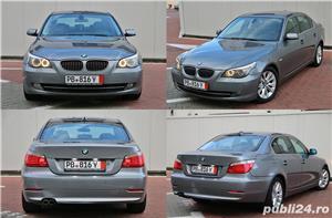 BMW Seria 5 / 525 / E60 / LCI / Soft Close / Keyless GO&Entry / Piele / Scaune comfort - imagine 3