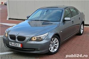 BMW Seria 5 / 525 / E60 / LCI / Soft Close / Keyless GO&Entry / Piele / Scaune comfort - imagine 1