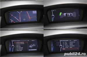 BMW Seria 5 / 525 / E60 / LCI / Soft Close / Keyless GO&Entry / Piele / Scaune comfort - imagine 9