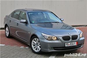 BMW Seria 5 / 525 / E60 / LCI / Soft Close / Keyless GO&Entry / Piele / Scaune comfort - imagine 2
