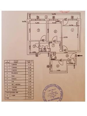 Apartament 3 camere Bucur Obor  - imagine 1