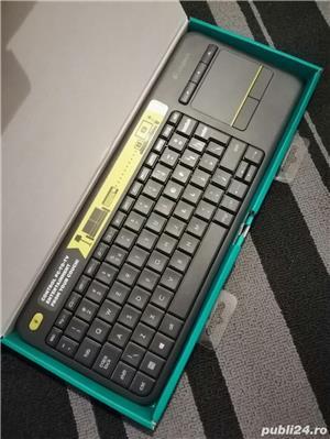 Tastatura Wireless Logitech K400 PLUS, stare foarte buna - imagine 3