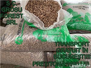 PELETI/BRICHETE DE FAG 1100 Trasnport gratuit in BUCURESTI! - imagine 3