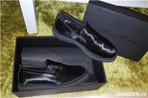 Pantofi piele naturala Bruno Bordese 41  - imagine 1