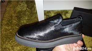 Pantofi piele naturala Bruno Bordese 41  - imagine 2