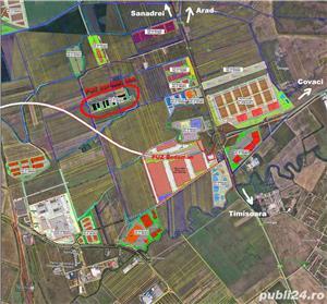 IEFTIN! 6ha PUZ industrial aproape de Cola, CF Timisoara intravilan - imagine 4