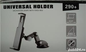 Stand Universal Auto Tablete-Telefoane Mobile-GPS (NOU) - imagine 1