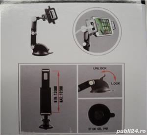Stand Universal Auto Tablete-Telefoane Mobile-GPS (NOU) - imagine 2