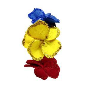 Coronita tricolora handmade - imagine 3