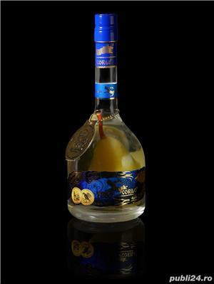 TUICA SCORILO-distilat din pere Williams-2013 Premium Quality cu para in interiorul sticlei - imagine 2