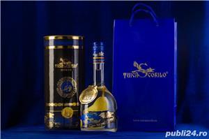 TUICA SCORILO-distilat din pere Williams-2013 Premium Quality cu para in interiorul sticlei - imagine 3